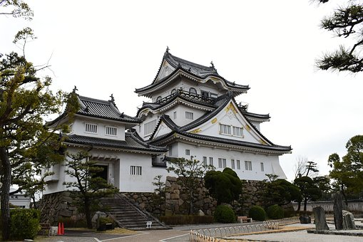 Kishiwada Castle, Japan, Japanese Castle, Osaka