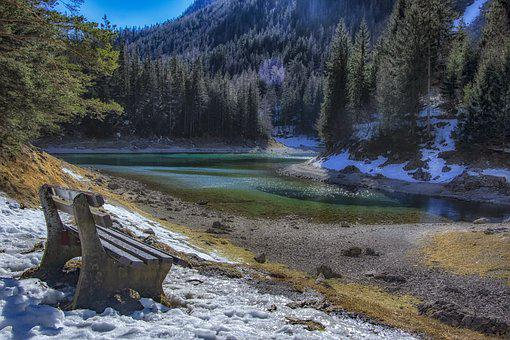 Lake, Winter, Landscape, Nature, Cold, Snow, Water