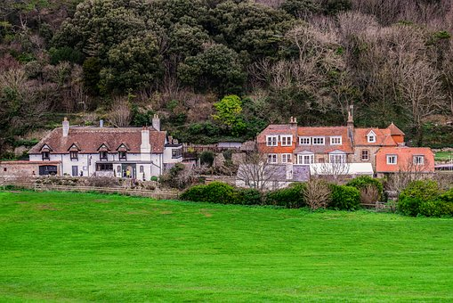 Lulworth Cove, Cottages, Village, Architecture