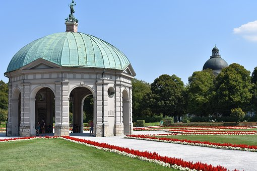 Munich, Courtyard Garden, Residence, Park