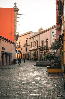 Street, Mexico, Colorful, Architecture, Old, Travel