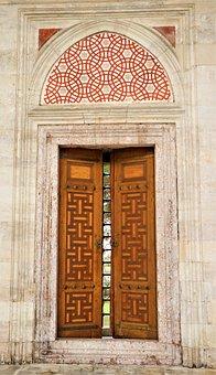 Door, Glass, Window, On, Workmanship, Work