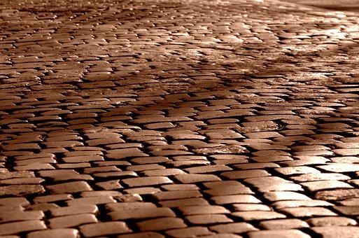 Road, Paving Stones, Cobblestones, Pavement, Paved