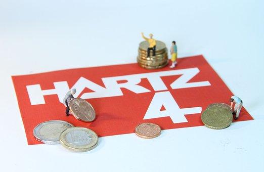 Hartz 4, Poverty, Miniature Figures, Labour Market