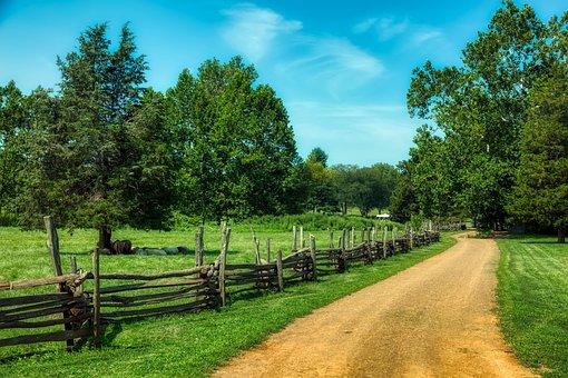 New Jersey, America, Landscape, Scenic, Summer, Fields