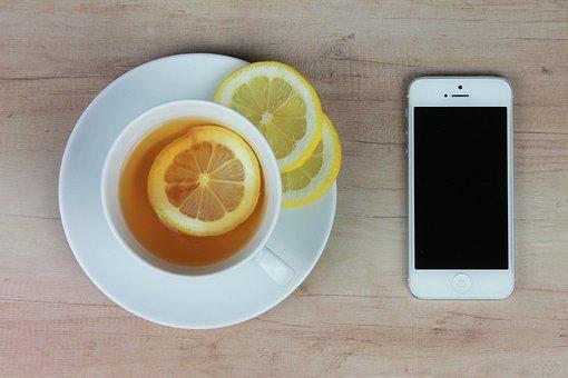 Tea, Phone, Work Desk, The Order Of The, Smartphone