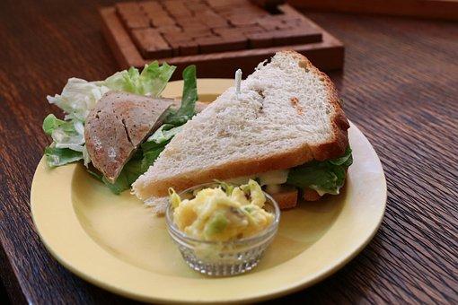 Sandwich, Organic, Bread, Nutrition, Plate, Snacks