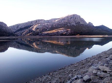 Cúber, Reservoir, Mallorca, Mountains, Spain