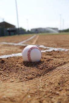 Baseball, Gravel, Sports, Game