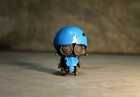 Small, Robot, Toy, Figurine, Cute, Film, Video, Movie