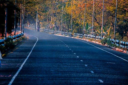 Road, High Way, High, Travel, Sky, Way, Landscape