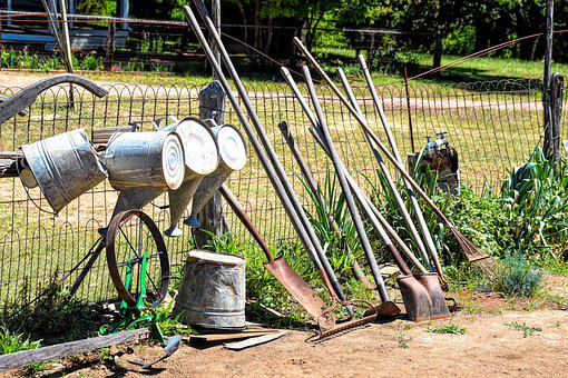 Garden Tools, Gardening, Shovel, Soil, Work, Tools