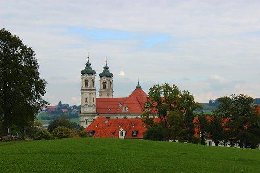 Ottobeuren, Abbey, Benedictine, Bavaria
