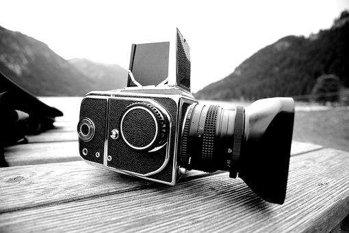 Camera, Analog, Lake, Mamiya, Medium Format, Film