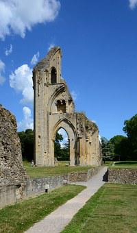 Glastonbury, Cathedral, Ruin, Henry Viii, Benedictine