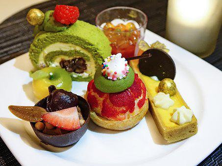 Pastry, Cake, Cream, Dessert, Food, Sweet, Delicious
