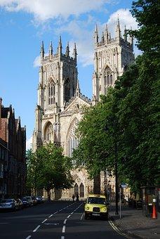 York Minster, York, England, Cathedral, Church