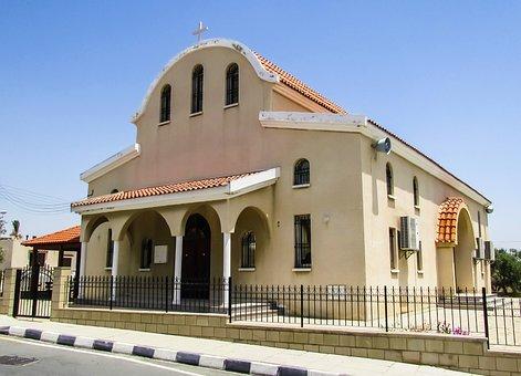 Cyprus, Kalo Chorio, Ayios Rafael Vasilios, Church