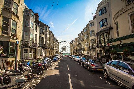 Brighton, Promenade, Coast