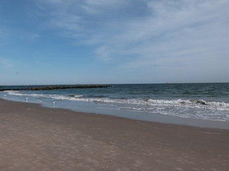 Brighton, Beach, Atlantic, Coney Island, New York City