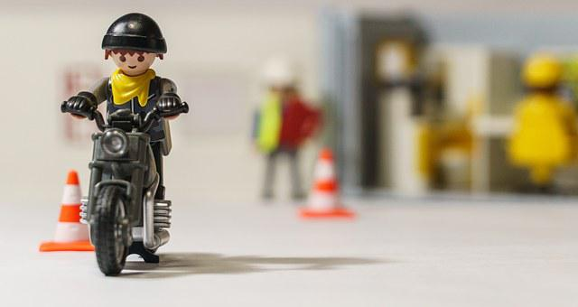 Playmobil, Toy, Figures, Construction Trades