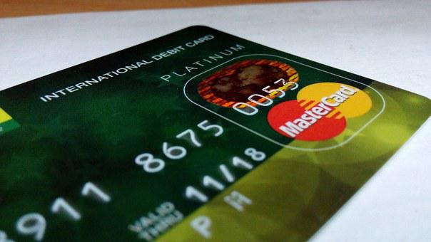 International Debit Card, Credit Card, Bank, Card
