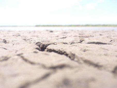 Drought, Dry, Desert, Cracked, Hot, Sand, Arid, Outdoor