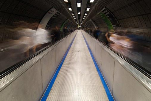 Tube, Underground, London, Uk, Europe, England