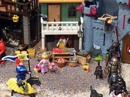 Playmobil, Exhibition, Toys, Figures, Horse, Reiter