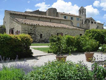 Salagon, Medieval, Garden, Museum, France, Priory