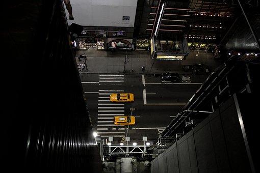 New York, Taxi, Road, Cab, City, Ny, Nyc, Usa