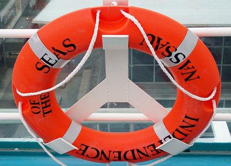 Lifebelt, Ship, Cruise, Belt, Ocean, Protection