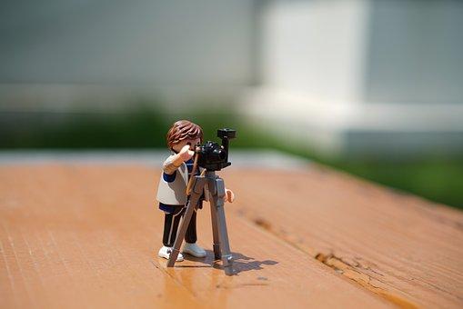 Playmobil, Photography, Photographers, Photographer