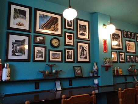 Cafe, Tea Rooms, Picture Frame, Photos, Amount