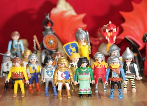 Playmobil, Toys, Children, Game Characters, Play, Fig