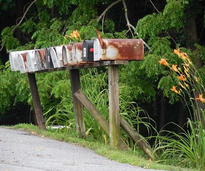 Rural, Mailbox, Mail, Post, Box, Country, Outdoors
