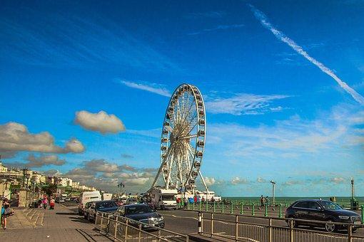 Brighton, Coast, Promenade
