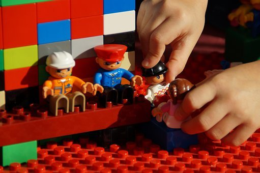 Play, Lego Duplo, Build, Role Playing Game, Males