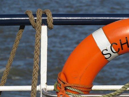 Shipping, Lifebelt, Maritime, Ship Accessories, Ship