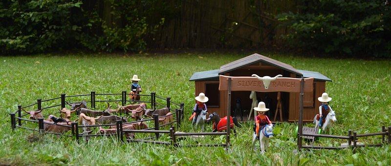 Playmobil, Western, Usa, America, Silver Ranch
