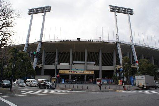 Stadium, Flood Light, Football, Spotlight