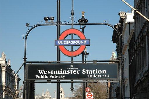 United Kingdom, London, Subway, Underground