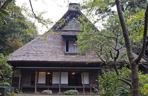 The Yanohara, Japanese House, Traditional