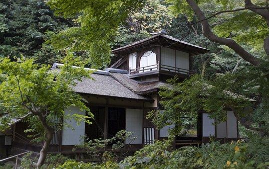 The Chōshūkaku, Japanese House, Traditional, Wood