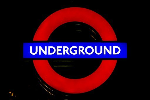 London, Underground, City, Lights, Subway