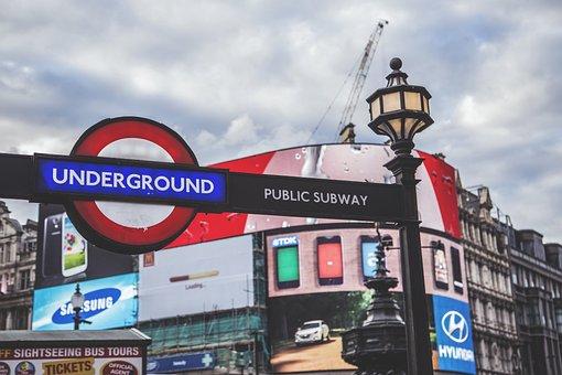 Underground, Subway, London, Transport, Urban, Metro