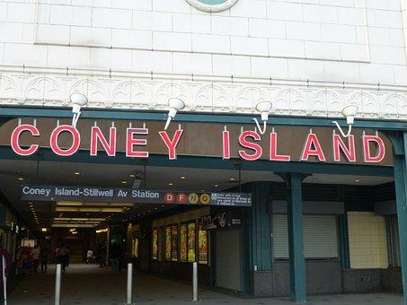 Coney Island, Brighton Beach, Usa, America, New York
