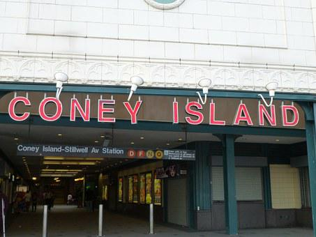 Coney Island, Brighton Beach, Usa, America, New York