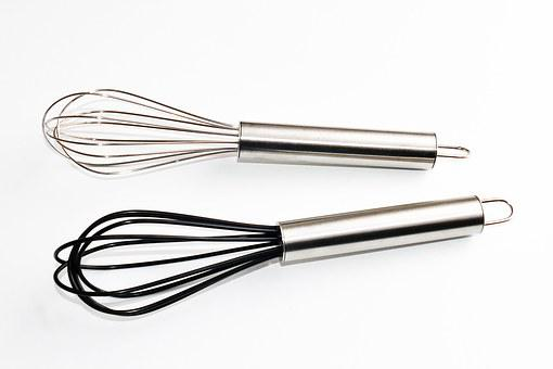 Utensils, Whisk, Kitchen, Food, Cooking, Cook