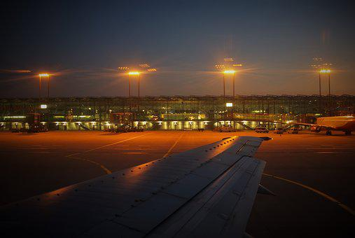 Airport, Cologne, Start, Aircraft, Viewers, Photograph